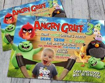 Angry Birds Invitation (Digital)