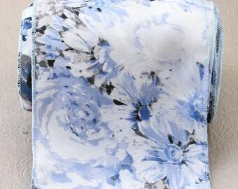 flower pattern ribbon-bjL