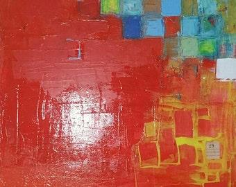 Pixels on Red