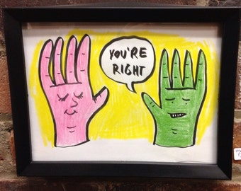 You're Right (drawing by Matt Post)
