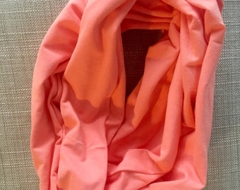 Adult Light Pink Infinit Scarf