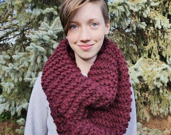 Bulky Scarf - Hand Knit in Minnesota