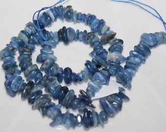 "16"" Strand of Blue Kyanite Chip Beads"