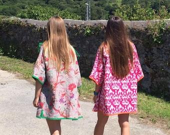 Khanta vintage fabric kimono