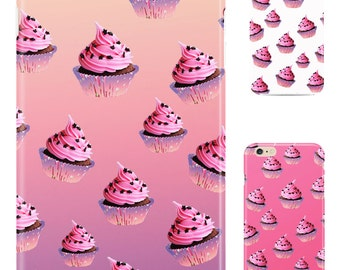 Iphone case-cover - cupcake for sizes 5-5s-5se-6-6s