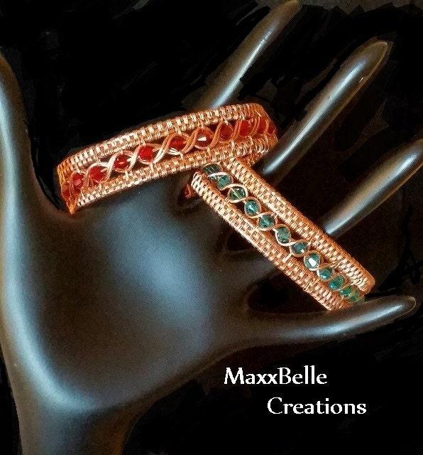 Tutorial Egyptian Wire Weave Bracelet