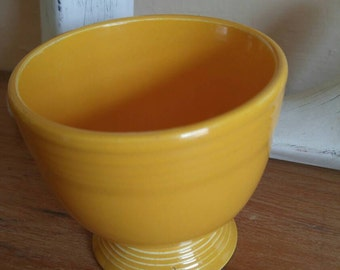 Fiestaware Egg Cup in Marigold Yellow