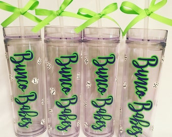 Bunco Babes Tumblers\Bunco Night Tumbler