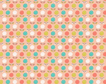 Buds and Blooms Print Cotton Fabric, Patchwork & Quilting Fabric - Fat Quarter