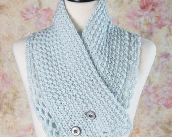 Neck warmer, Hand knit scarf, Cowl, Gifts for her, Mothers day, Circle scarf, Birthday gifts for her, Infinity scarf, Crochet Cowl, Scarf