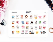 Gilmore Girls Countdown Stickers for Erin Condren Vertical Horizontal, Planner Stickers, Filofax, KikkiK, Happy Planner
