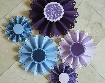 Wall Fans for Bridal Shower