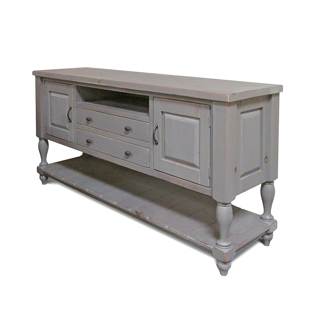 Media Console Console Table Reclaimed Wood Sideboard
