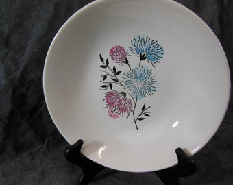Two Salad Bowls - Stetson China Co - 1957 - Mid Century