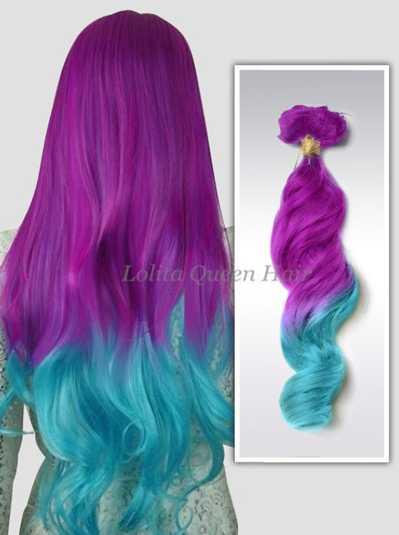 Purple pastel mermaid hair extensionslavender by lolitaqueenhair - Chambre mauve et turquoise ...