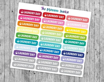 Laundry Day Labels [099]