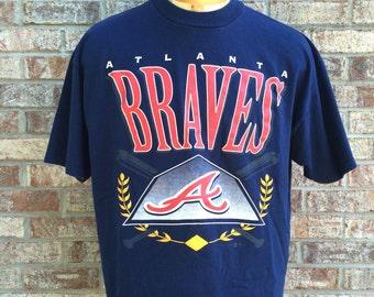 90s Atlanta Braves X-Large Tee