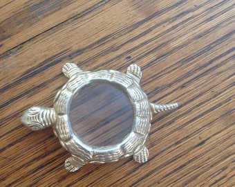 Metal Turtle Shaped Magnifying Glass