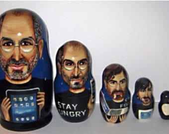 Steve Jobs 5 pc set