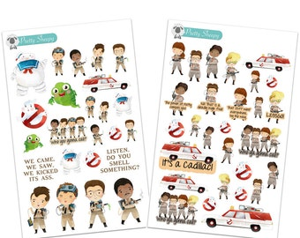 Ghostbusters Stickers