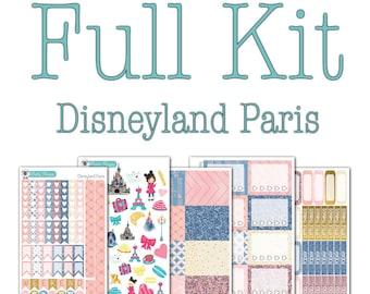 Disneyland Paris Collection - Disney Planner Stickers