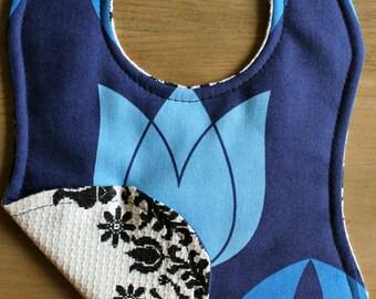 Blue Tulip baby bib