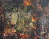 "10""x12"" Original Modern Acrylic Abstract Painting"