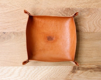 Leather Tray / Accessories Holder