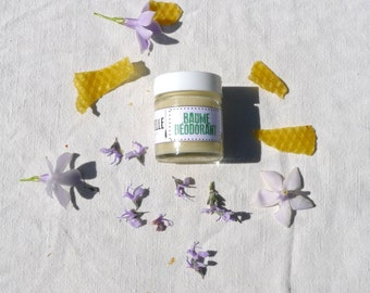 Natural deodorant, balm, handmade, organic, skin care