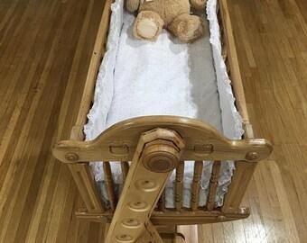 Solid Wood Cradle