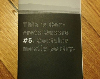 Concrete Queers #5 (poetry)