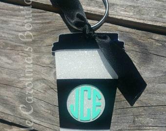 """3"""" Coffee Cup Keychain"""