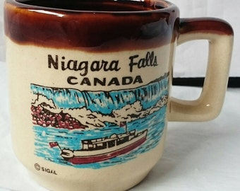 Small Decorative Niagara Falls, Canada Cup, Mug - SIGAL (DAMAGED)