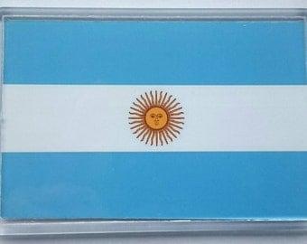Argentina Country Flag Jumbo Acrylic Fridge Magnet