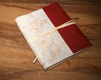 Distressed Leather Farmhouse Sketchbook