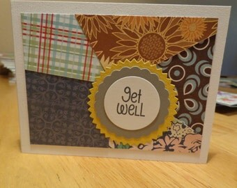 Get well scrappy card