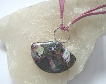 Purple Jasper Fan