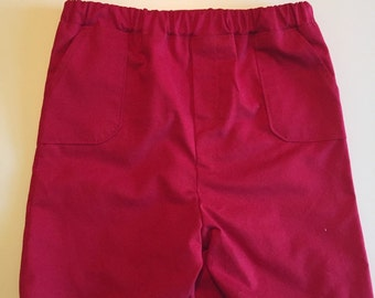 Boy's Shorts Red