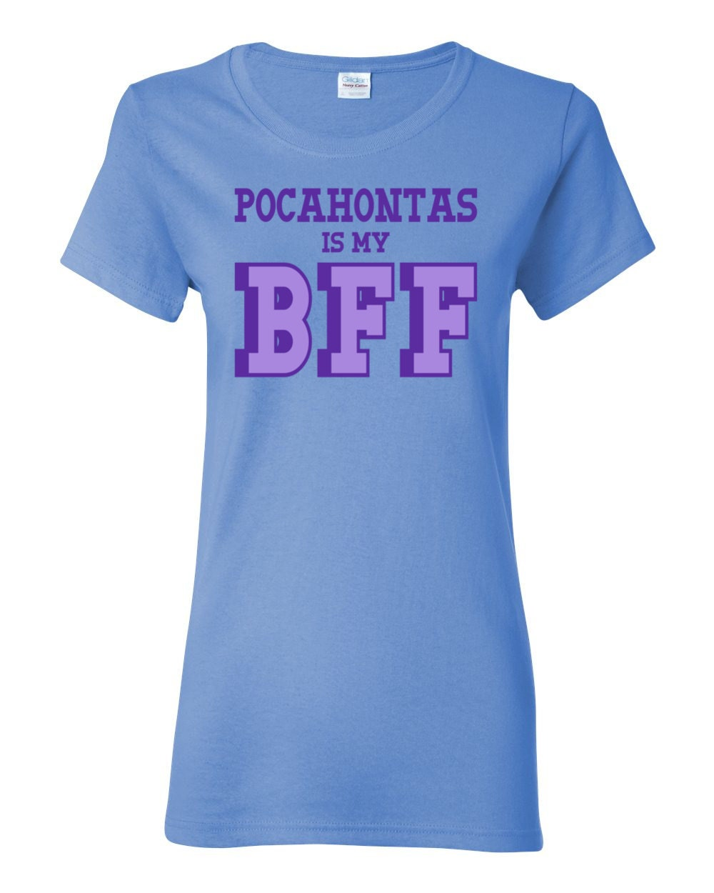 Great Women of History - Pocahontas is my BFF Womens History T-shirt