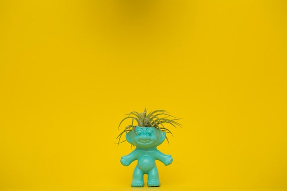 TROLL DOLL PLANTER