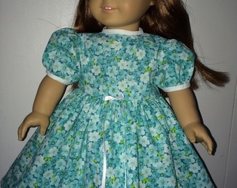 dress for American Girl Doll ir 28 inch doll, calico