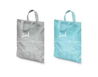 Bag Seoul - serigraph / screenprinting