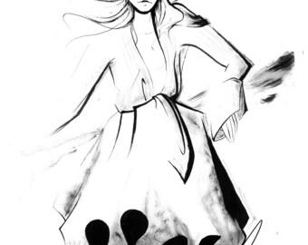 Socca - Fashion illustration
