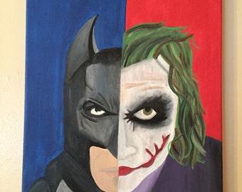 The Dark Knight vs The Joker