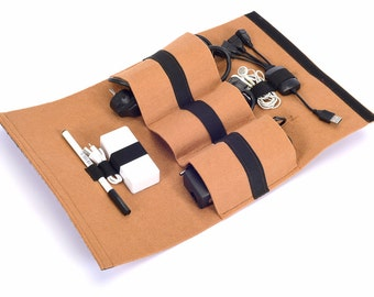 Technobag Cable and Accessory Organizer Bag, Accesory Pouch, Travel Bag, Digital Accessory Bag (Express Shipping)