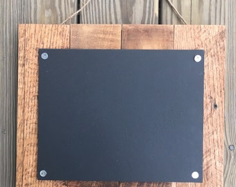 Rustic Reclaimed Wood Chalkboard