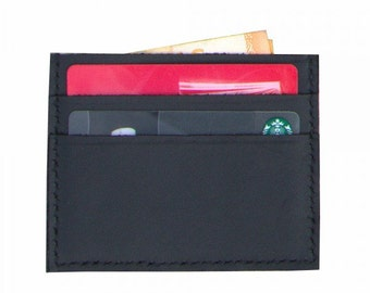 Slim wallet. Card wallet. Minimalist wallet. Wallet. Black wallet. Brown wallet. Leather wallet.