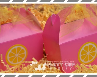 Pink Lemonade Party Favors-Lemonade Stand Party Cups