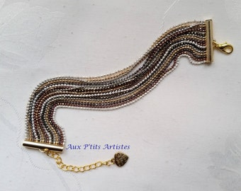 Multirang strap, micro-bead chain diamond 4