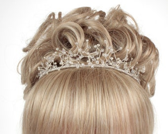 Wedding Tiara, Crystal Tiara, Wedding Headdress, Bridal Tiara, Wedding Headdress,